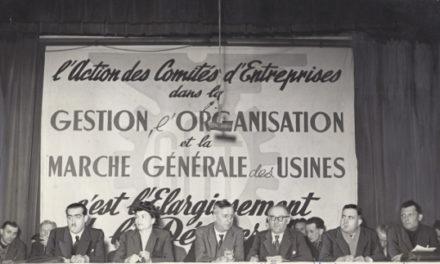 Comités d'entreprise : de la charité à l'intervention économique