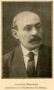Alphonse Merrheim | archives IHS CGT métaux