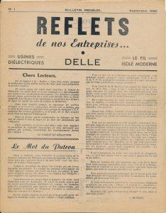 Exemplaire de Reflets de nos entreprises (1950) | archives B. Christen