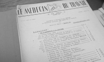 Les archives des médecins du travail
