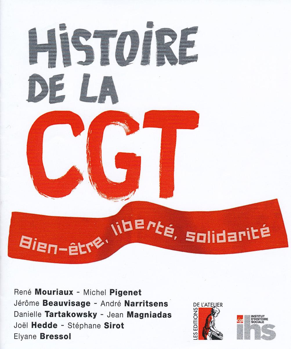 Histoire de la cgt bien tre libert solidarit - Pacte energie solidarite condition ...
