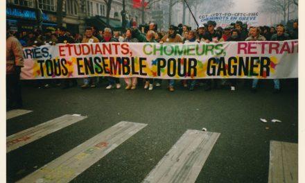 L'hiver de la colère. Retours sur les grèves de 1995