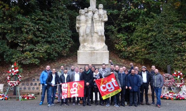 Les jeunes cégétistes ont répondu «présent» pour les 75 ans des martyrs de Châteaubriant