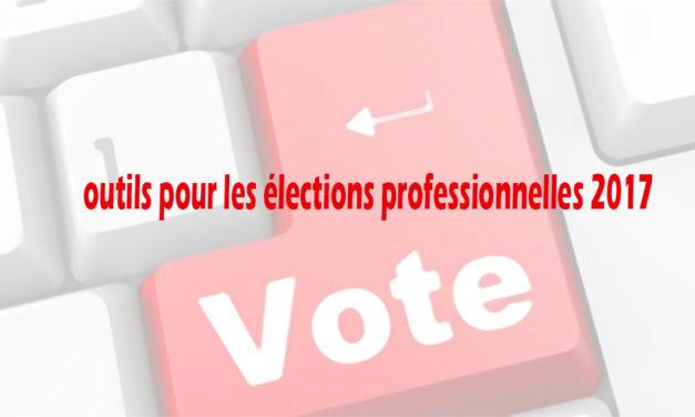 Outils pour les élections disponibles