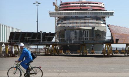 Reprise du chantier naval STX