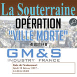 Les habitants de La Souterraine participeront à l'opération «ville morte» en soutien aux GM&S