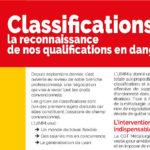 TRACT | Classifications : la reconnaissance  de nos qualifications en danger