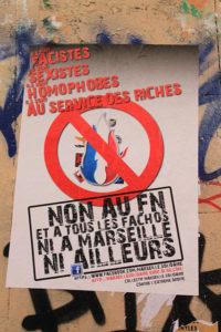 Affiche contre le Front national © J. Manjoulet | Flickr.com
