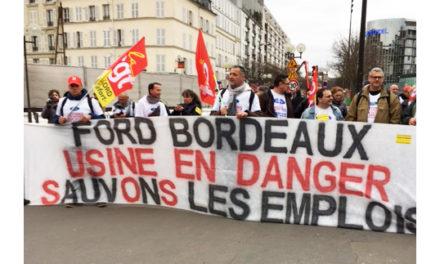 22 février : les Ford à Paris avec les métallos d'Ile de France