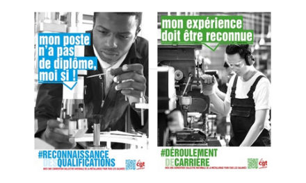 AFFICHES | «expérience reconnue» et «reconnaissance qualifications»