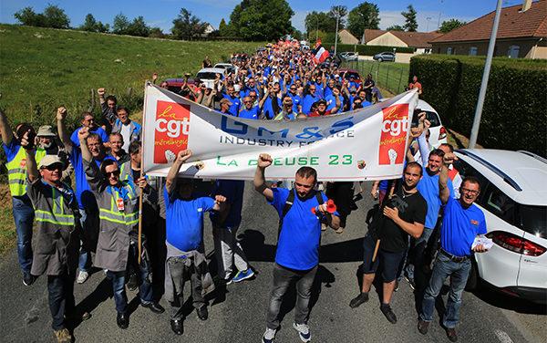 COMMUNIQUE DE PRESSE | Les GM&S toujours mobilisés pour sauver leur entreprise!