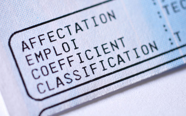 Quel lien classification-qualification ?