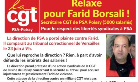 PETITION | RELAXE POUR FARID