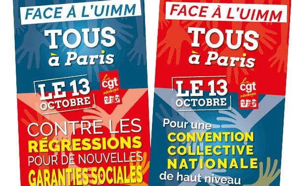 AFFICHES | Manifestation du 13 octobre pour une convention collective nationale