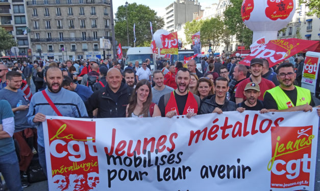Manifestations du 21 septembre : forte mobilisation des métallos !