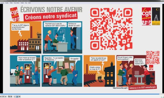 Créons notre syndicat ! BD, affiche, carte postale disponibles