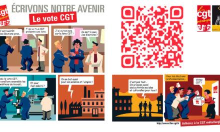 Bande dessinée animée : pourquoi voter CGT ?
