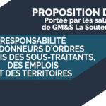 Proposition de Loi portée par les salariés de GM&S