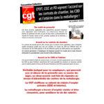 … un nouvel accord signé concernant la mise en œuvre des contrats de chantier