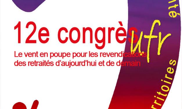 Affiche du congrès 2019