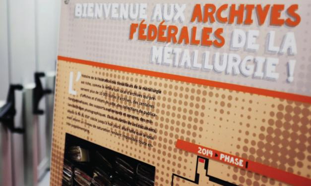 Inauguration des archives fédérales