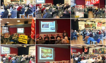Rencontre des syndiqués retraités métaux Toulouse du 21 janvier 2019