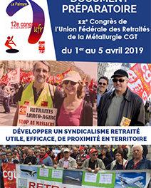 Document du 12e congrès UFR