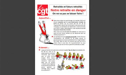 Tract PSA, mobilisation du 11 avril