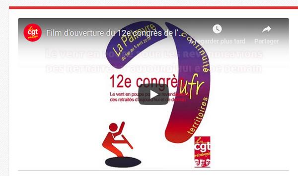 Film d'ouverture du 12e congrès