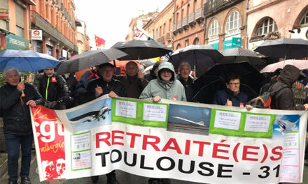 Quelques photos de la manifestation du 11 avril à Toulouse