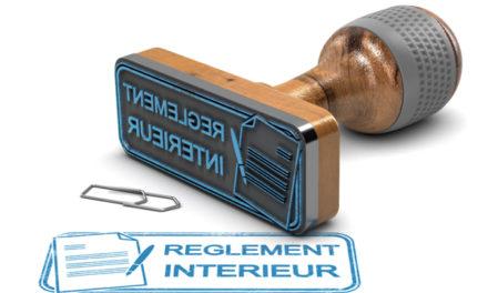 Le règlement intérieur du CSE