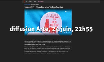 Les GM&S à Cannes «on va tout péter»