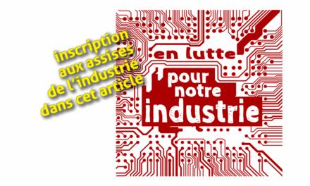 Invitation aux Assises de l'industrie 2019