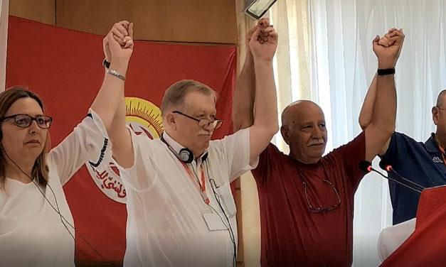 Conférence Internationale des Organisations Syndicales du Bassin Méditerranéen du 18 au 21 juin 2019 à Monastir