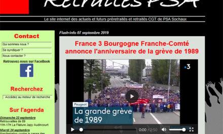 PSA  : grève de 1989 et 30ème anniversaire
