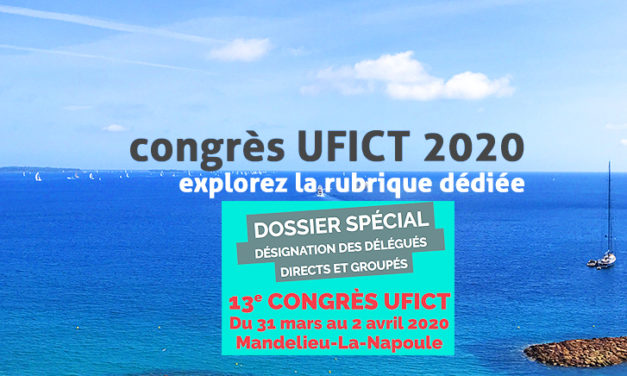 Dossier mandatement du congrès UFICT, octobre 2020