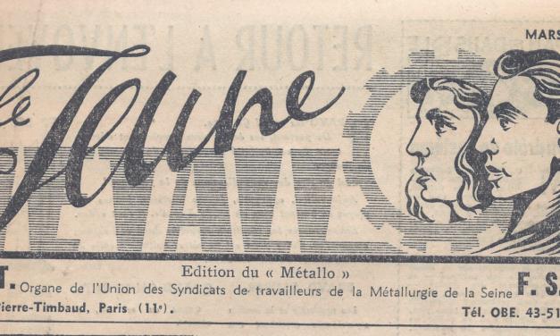 Jeunes métallos dans l'action (1936-1962)