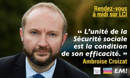 La mémoire d'Ambroise Croizat ne peut être associée à la casse de nos retraites !