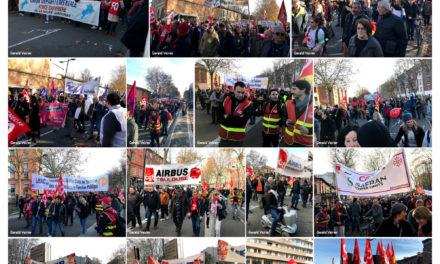 Toulouse 10 décembre on continue… photographies de Gérald Veirier d'Aiguebonne