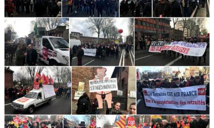 16 janvier Toulouse, on continue, toujours plus fort … (photos)