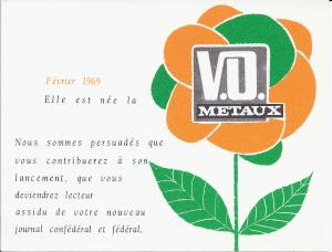 Diffusion de la Vie Ouvrière Métaux (1969-1980)
