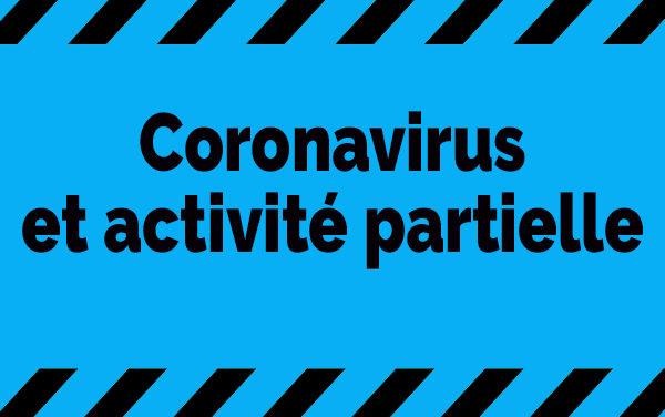Coronavirus et activité partielle