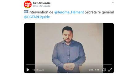 🎞️ Intervention de @Jerome_Flament Secrétaire général @CGTAirLiquide