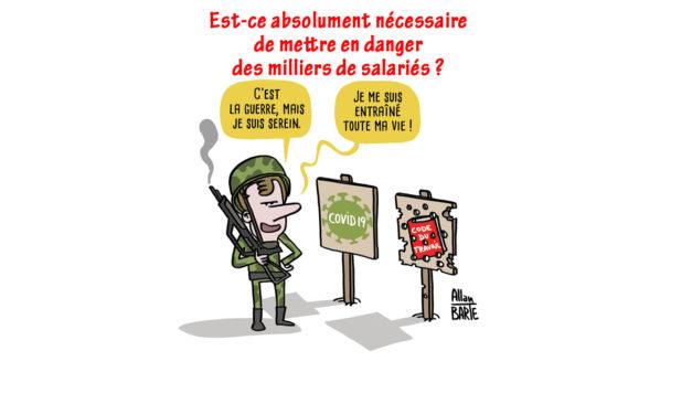 LES USINES NON VITALES … À L'ARRÊT !
