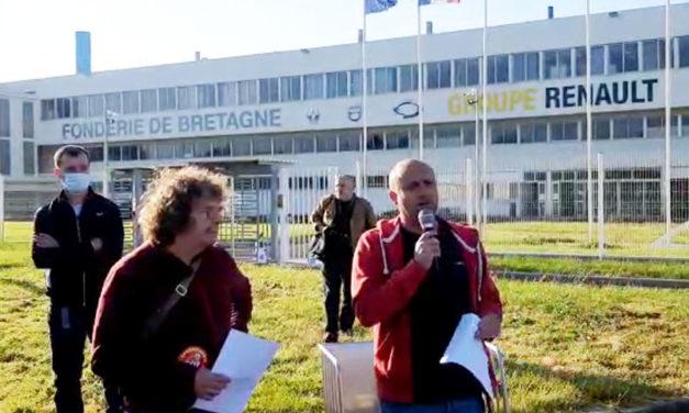 Fonderie de Bretagne, Caudan (56) : depuis ce matin, débrayage massif