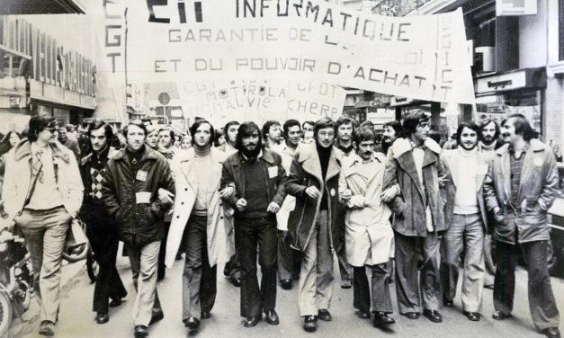 Histoire des luttes sociales de la CII Toulouse dans les années 1970, suite