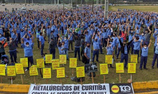 Une conclusion heureuse après la grève dans l'usine Renault de Curitiba au Brésil