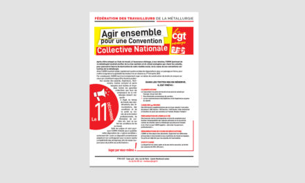 Le 11 : agissons ensemble pour notre convention collective nationale !