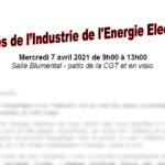 Assises des syndicats de la Filière Industrielle de l'Énergie Électrique
