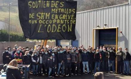 Les camarades de la SAM, soutien aux occupants de l'Odéon